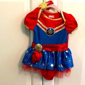 Captain Marvel Halloween Costume 6-9 Months